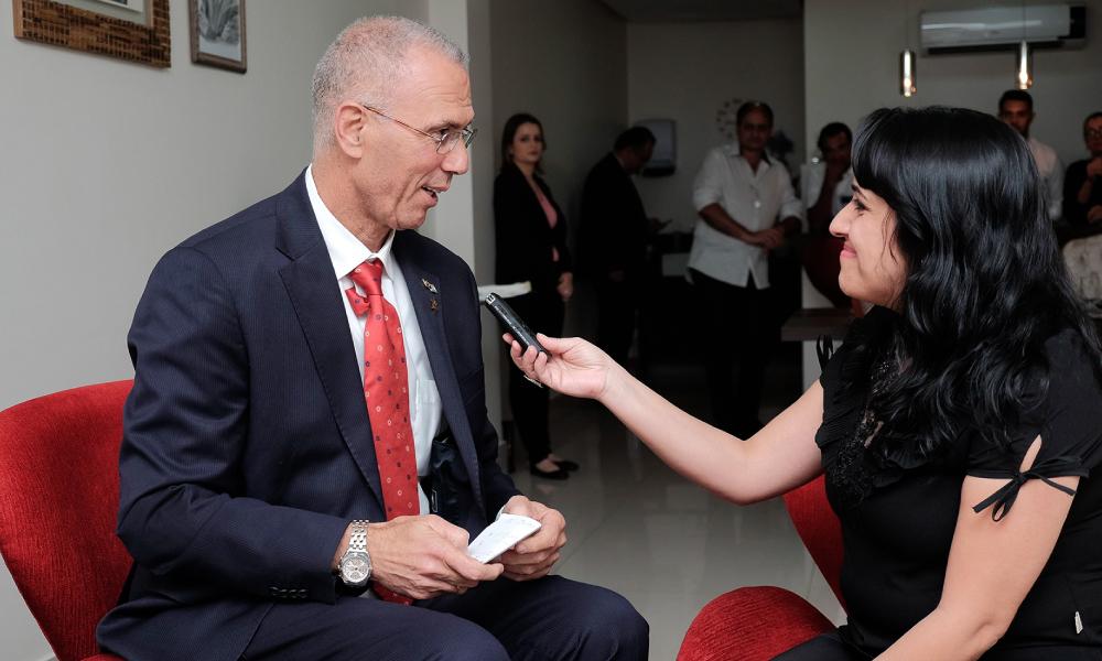 Yossi Shelly – Embaixador de Israel no Brasil