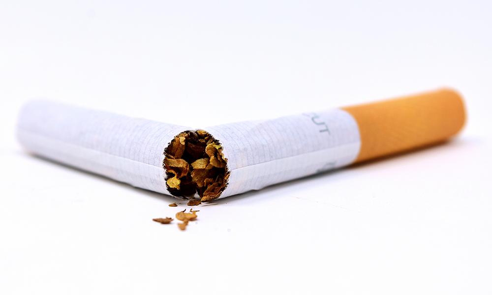 Fui curado do tabagismo