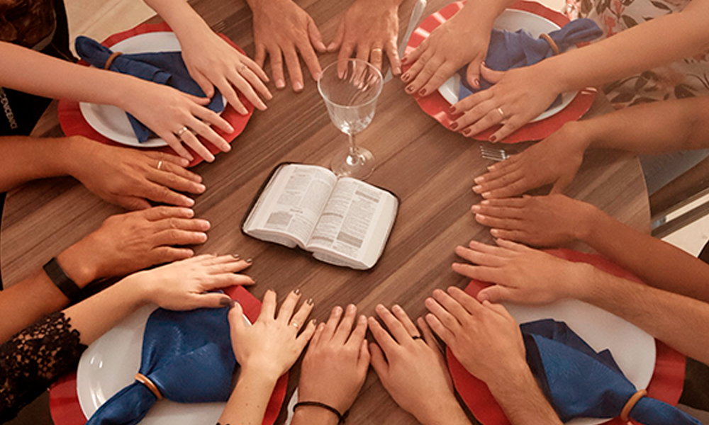 À mesa com Jesus