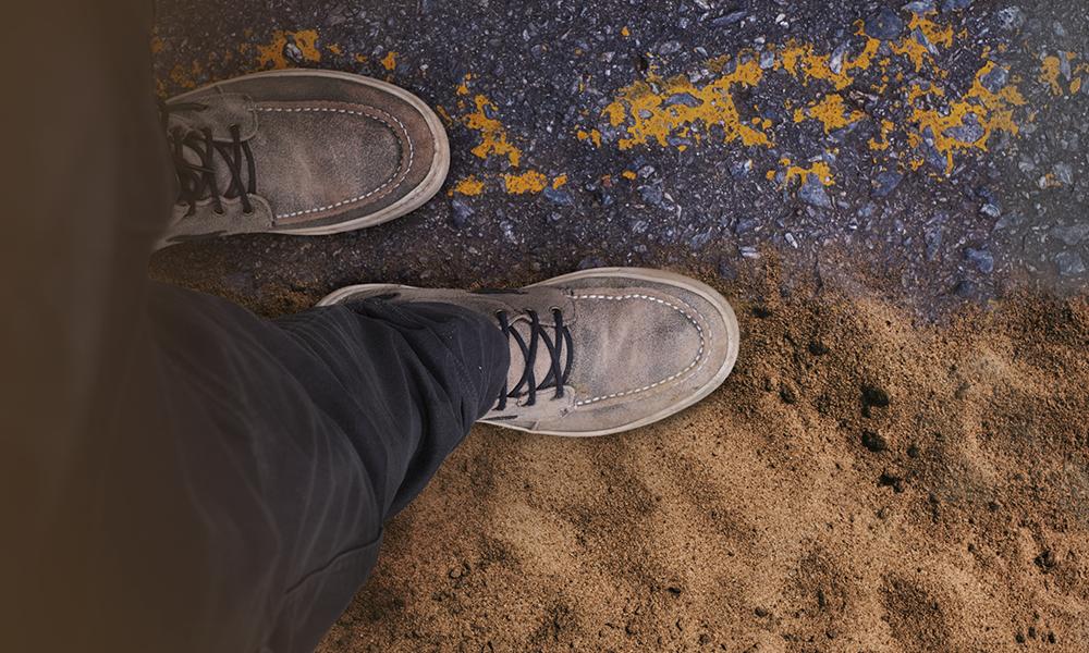Rocha ou areia: onde meus pés estão firmados?