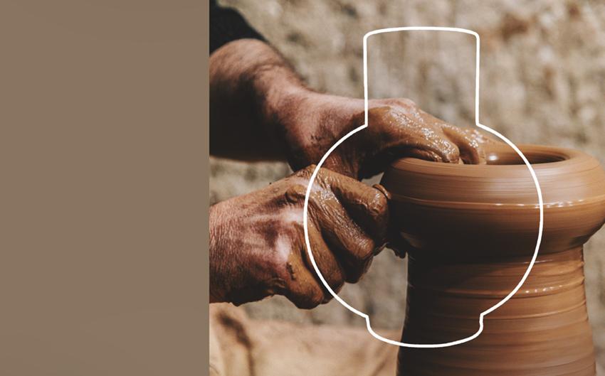 Vasos nas mãos do Oleiro (Isaías 64:8)